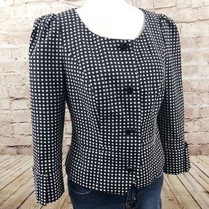 Anthropologie Taikonhu polka dot blazer jacket